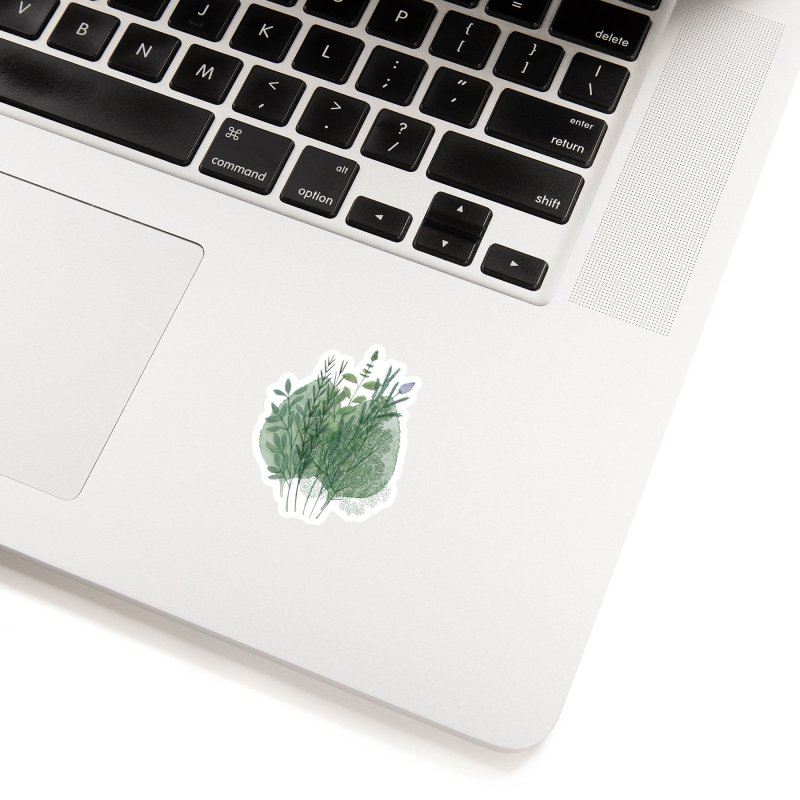 Herbs Accessories Sticker by Maria Paula