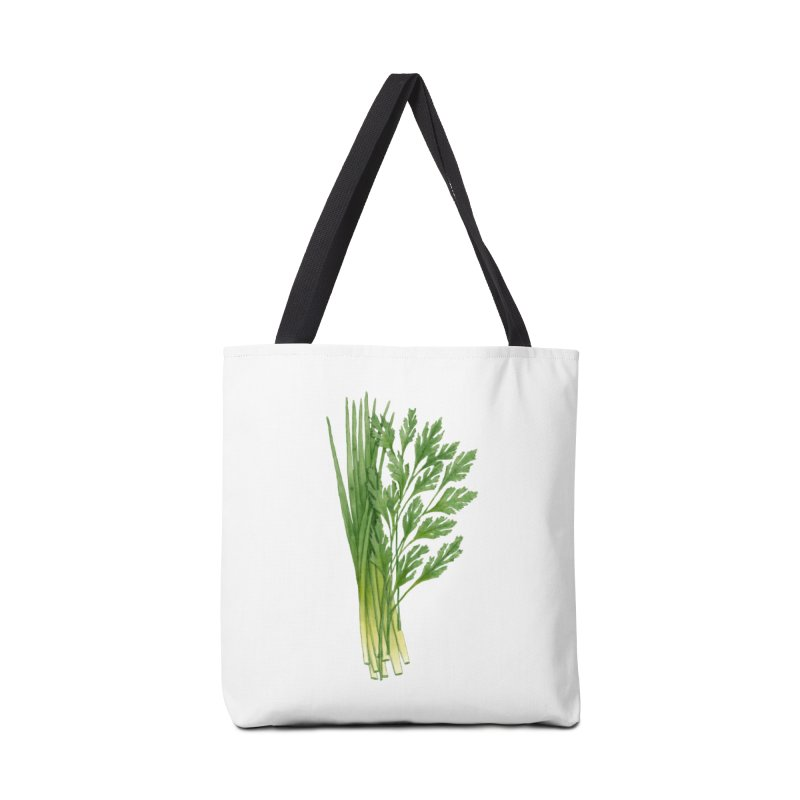 Green Scent Accessories Bag by Maria Paula