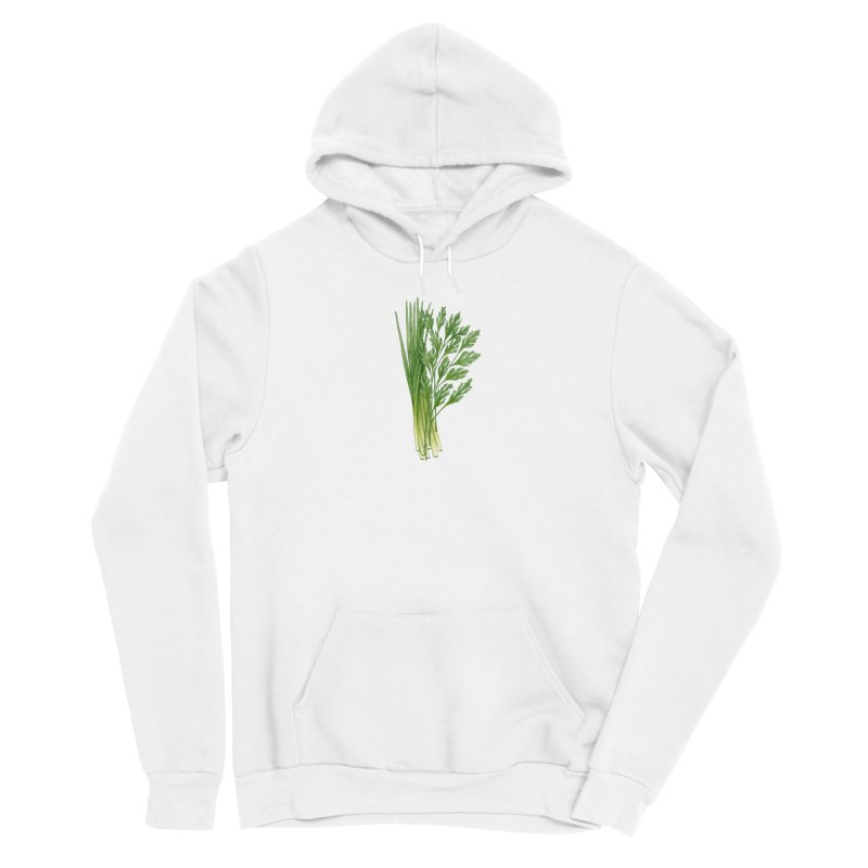 Green Scent Women's Pullover Hoody by Maria Paula