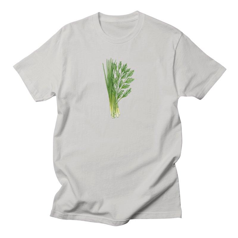 Green Scent Men's T-Shirt by Maria Paula