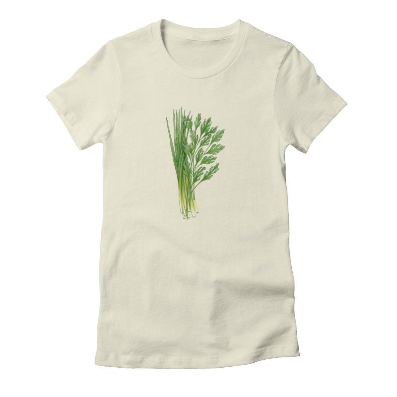 Green Scent Women's T-Shirt by Maria Paula