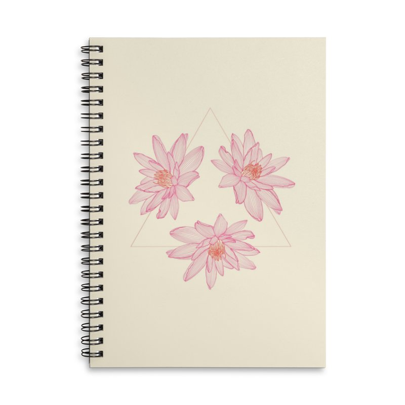 Victoria Amazonica Accessories Notebook by Maria Paula