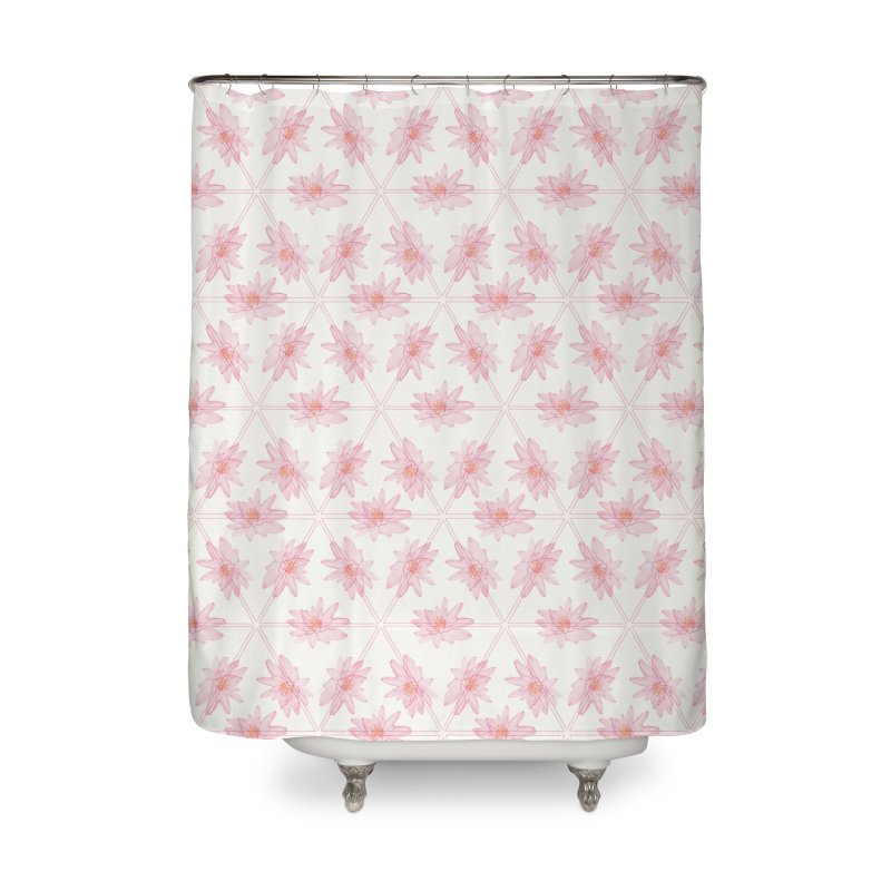 Victoria Amazonica Home Shower Curtain by Maria Paula