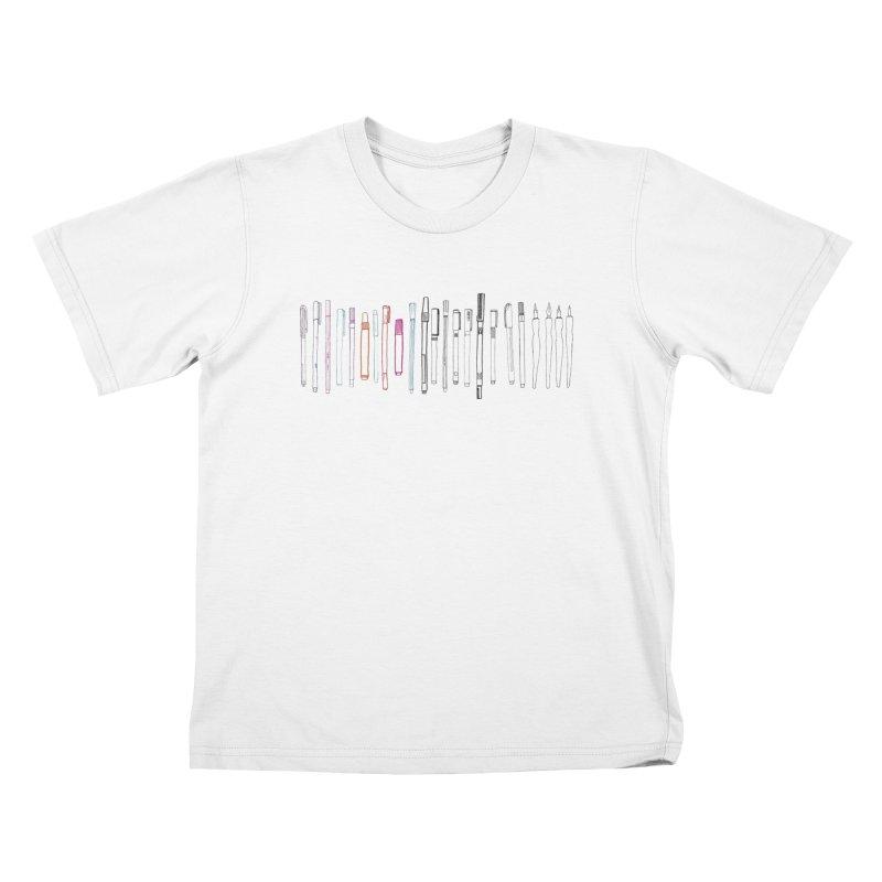 Arsenal Kids T-Shirt by Maria Paula