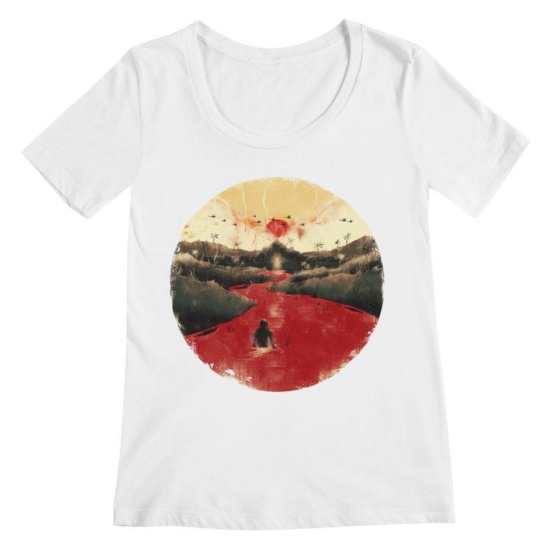 Apocalypse Now Women's Regular Scoop Neck by MB's Tees