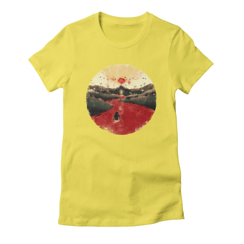 Apocalypse Now Women's Fitted T-Shirt by MB's Collection
