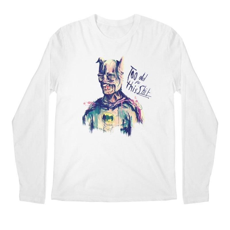 Too old Men's Regular Longsleeve T-Shirt by MB's Tees