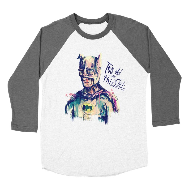 Too old Men's Baseball Triblend Longsleeve T-Shirt by MB's Tees