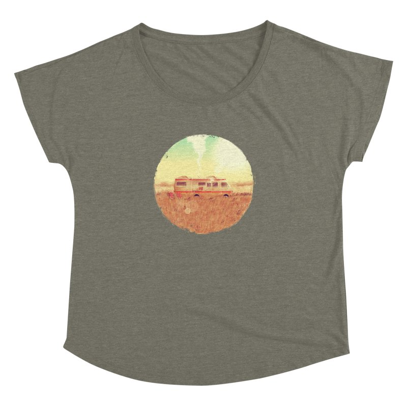 Where it all began Women's Dolman Scoop Neck by MB's Tees