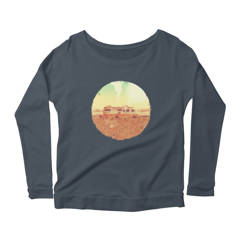Where it all began Women's Scoop Neck Longsleeve T-Shirt by MB's Tees