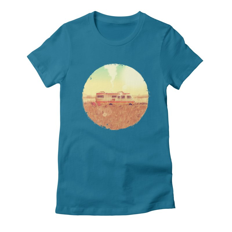 Where it all began Women's Fitted T-Shirt by MB's Tees