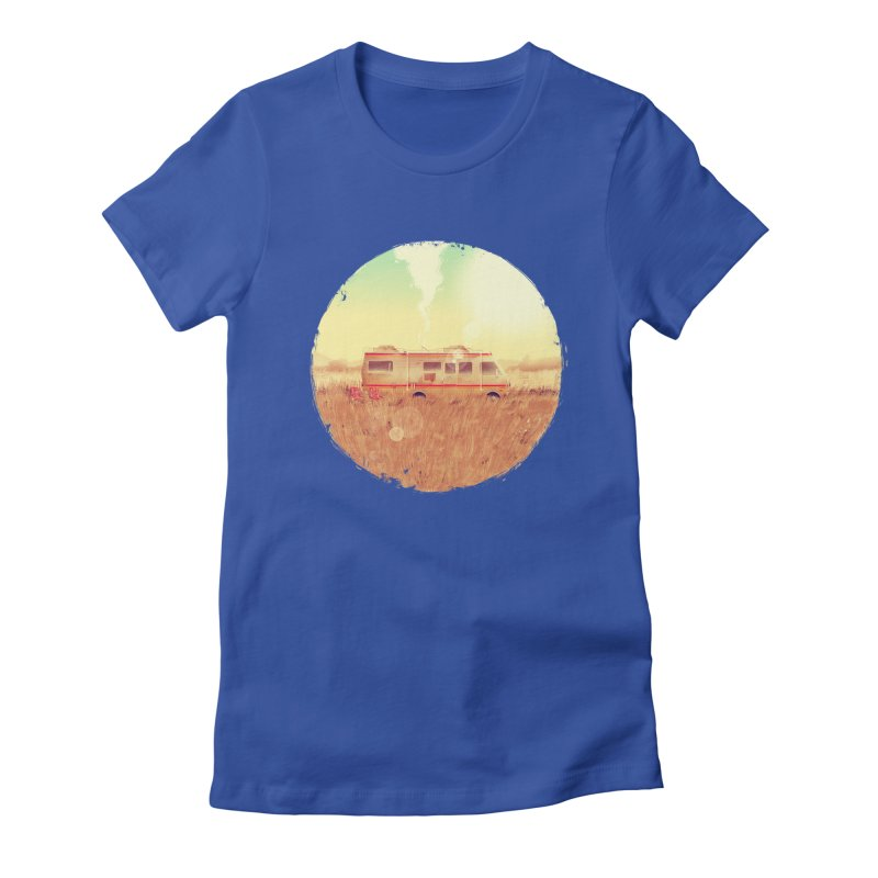 Where it all began Women's Fitted T-Shirt by MB's Collection