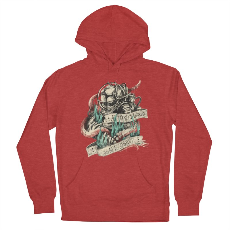 Bioshock Women's French Terry Pullover Hoody by MB's Tees