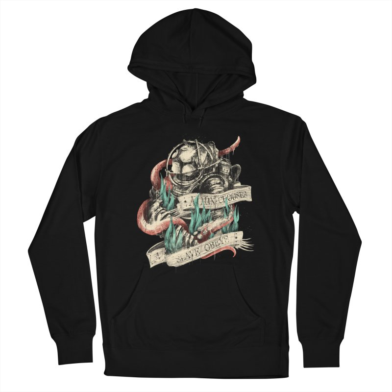 Bioshock Men's French Terry Pullover Hoody by MB's Tees