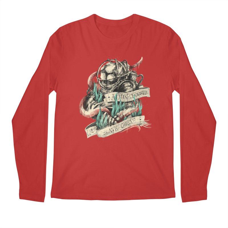 Bioshock Men's Regular Longsleeve T-Shirt by MB's Tees