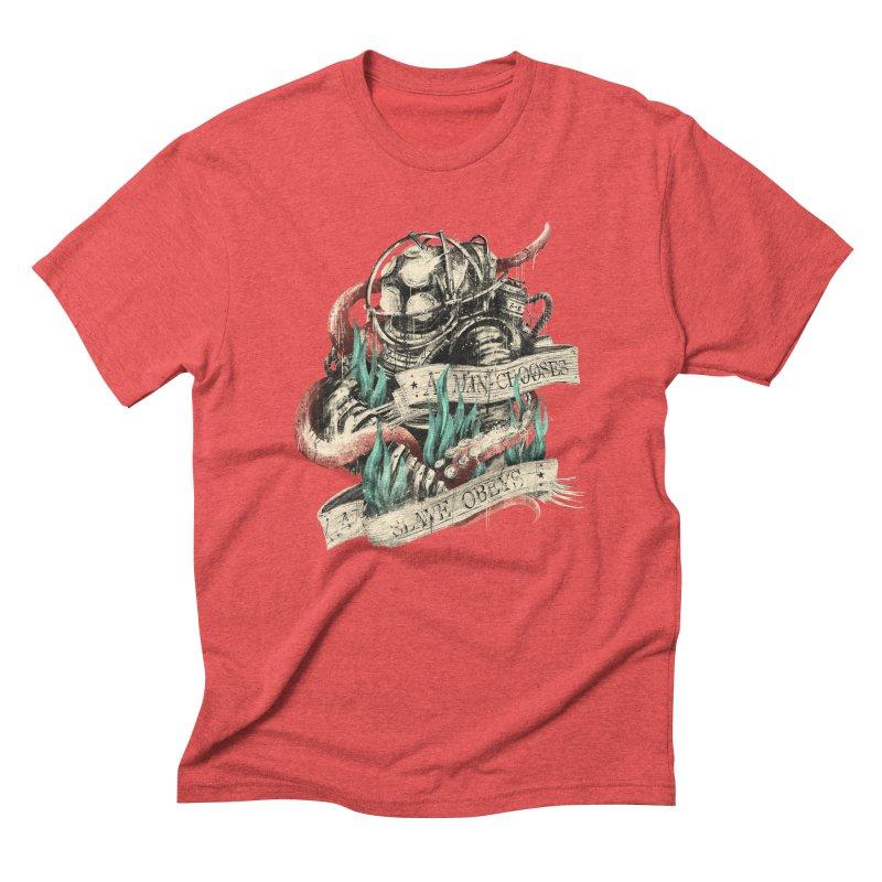 Bioshock Men's Triblend T-Shirt by MB's Tees