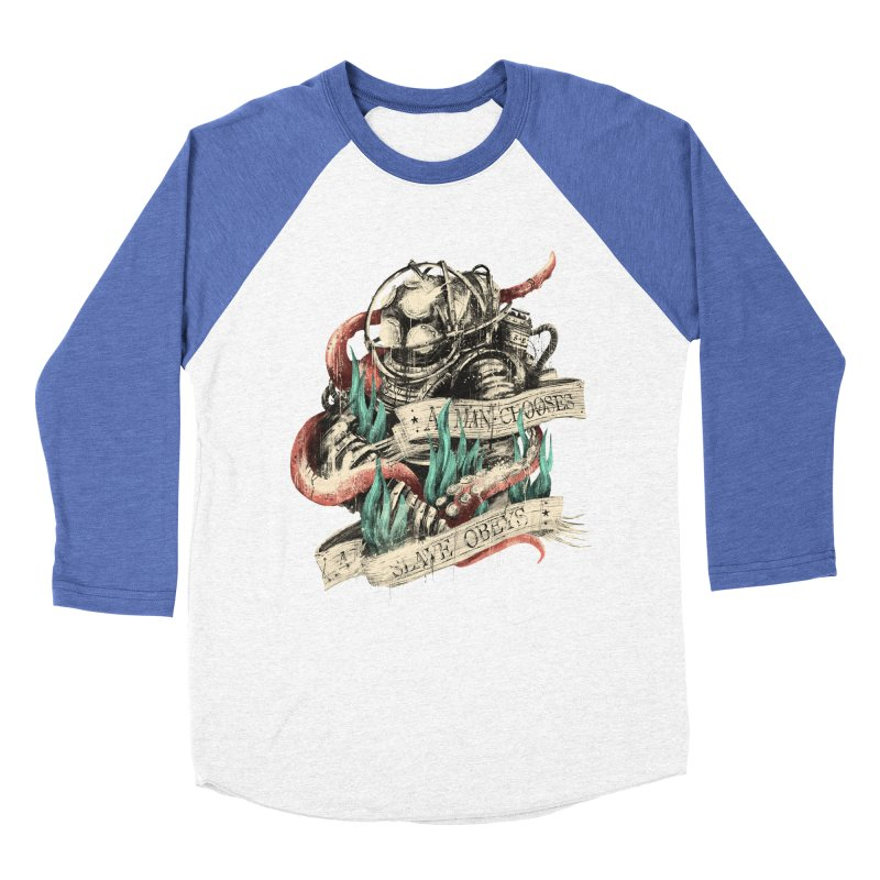 Bioshock Women's Baseball Triblend Longsleeve T-Shirt by MB's Tees