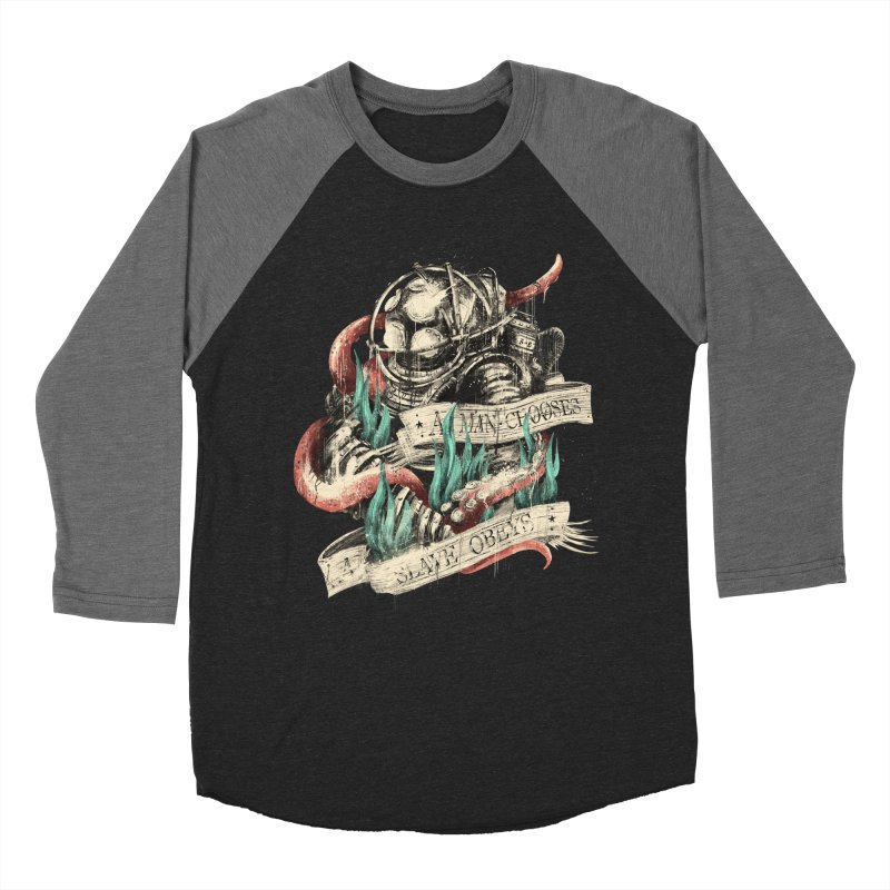 Bioshock Men's Baseball Triblend Longsleeve T-Shirt by MB's Tees