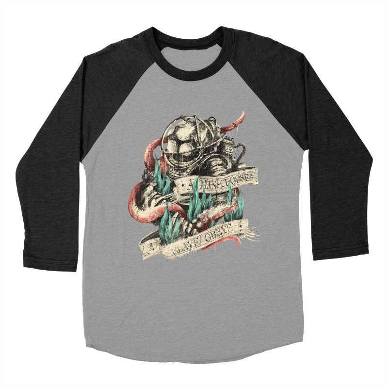Bioshock Men's Baseball Triblend Longsleeve T-Shirt by MB's Tees