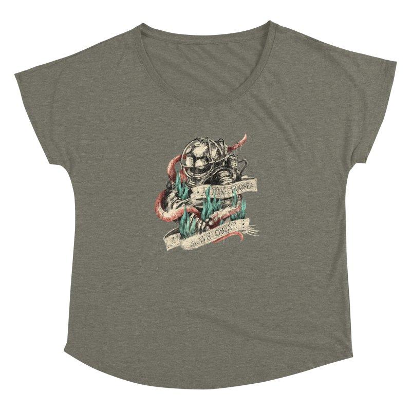 Bioshock Women's Dolman Scoop Neck by MB's Tees