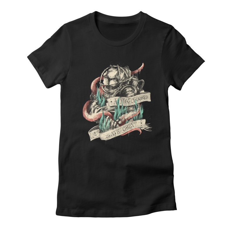Bioshock Women's Fitted T-Shirt by MB's Collection