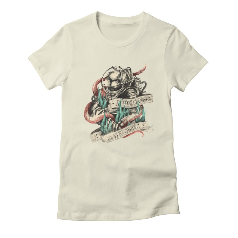 Bioshock Women's Fitted T-Shirt by MB's Tees