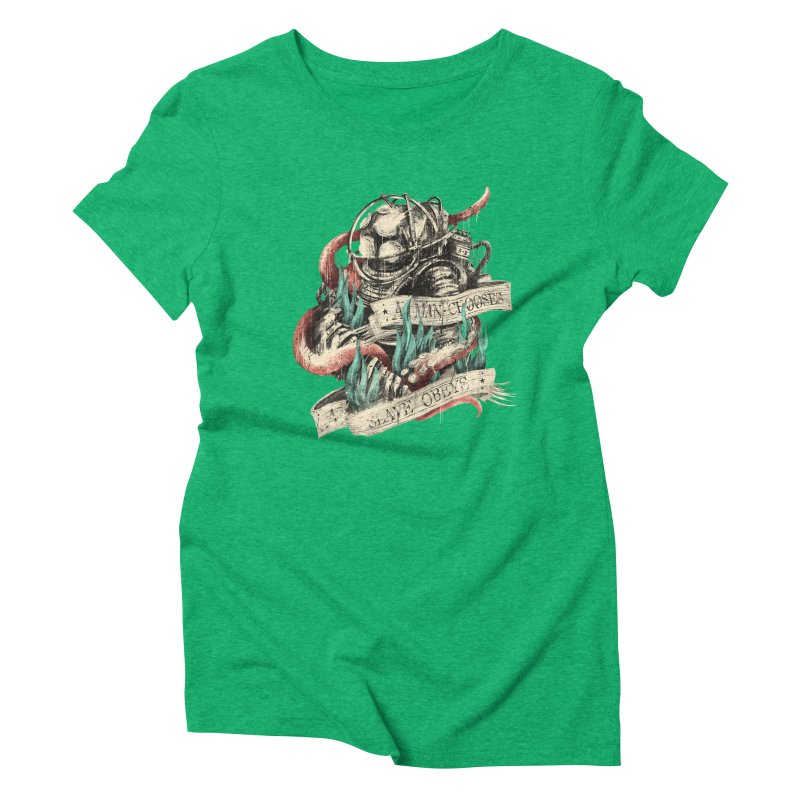 Bioshock Women's Triblend T-Shirt by MB's Tees