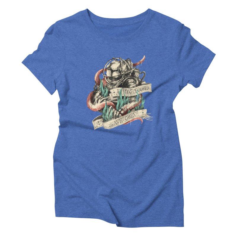 Bioshock Women's Triblend T-Shirt by MB's Tees