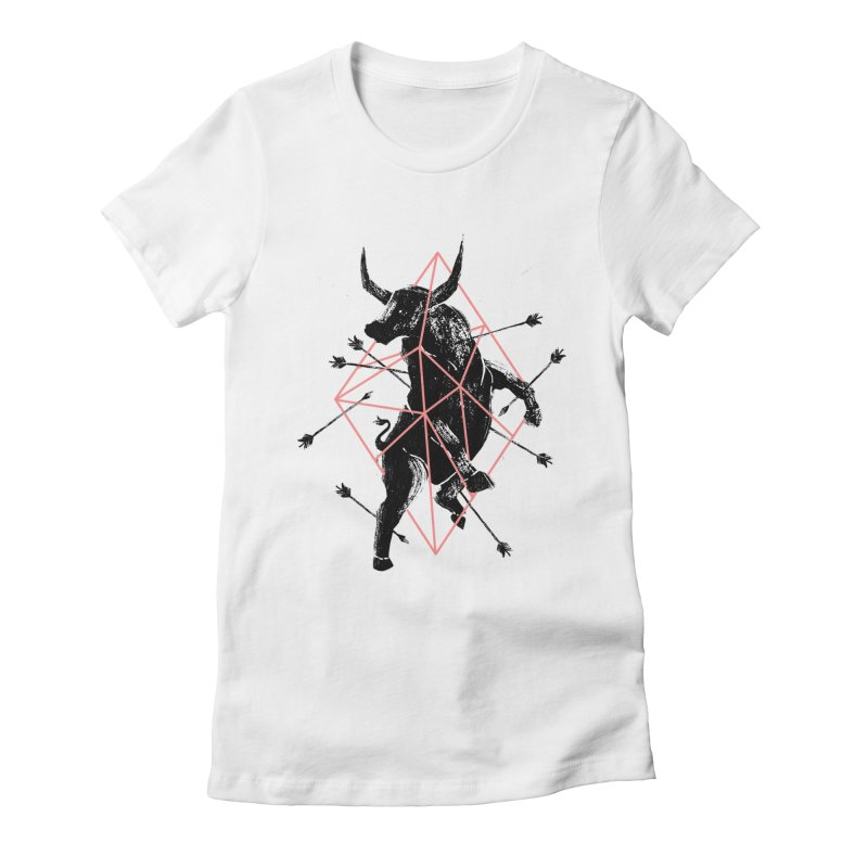 Trap Women's Fitted T-Shirt by MB's Tees
