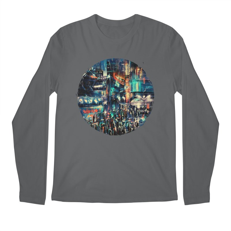 Chinatown Men's Longsleeve T-Shirt by MB's Tees