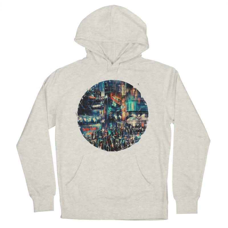 Chinatown Women's French Terry Pullover Hoody by MB's Tees