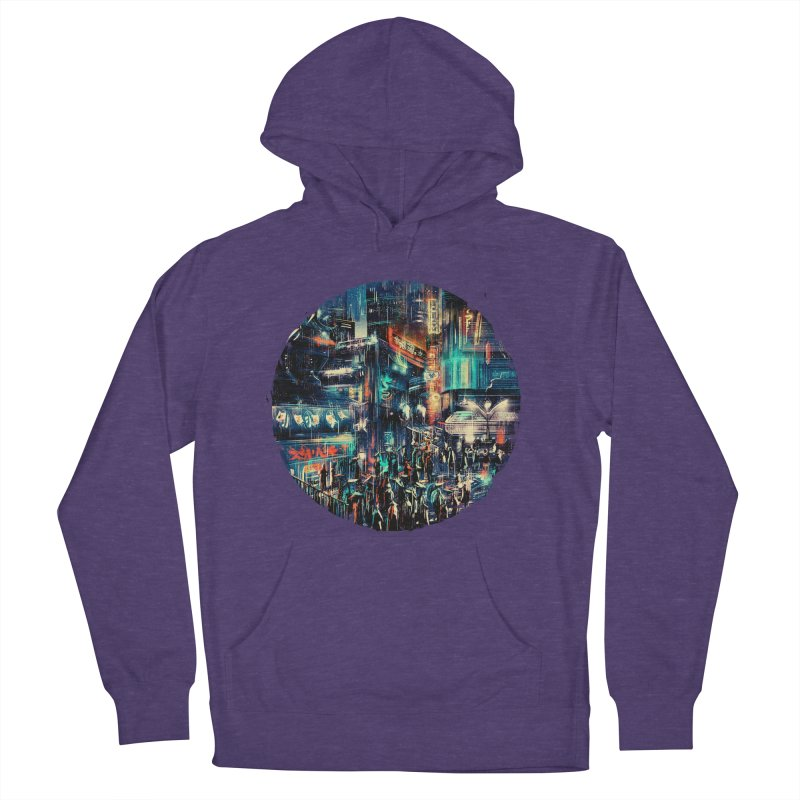 Chinatown Men's Pullover Hoody by MB's Tees