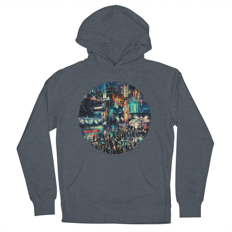 Chinatown Men's French Terry Pullover Hoody by MB's Tees