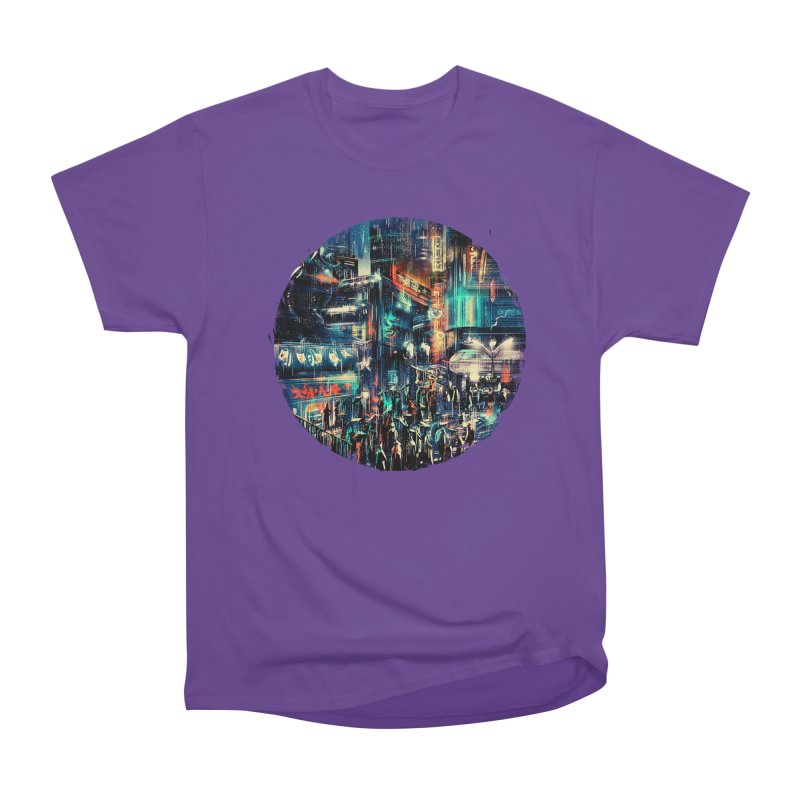Chinatown Women's Heavyweight Unisex T-Shirt by MB's Tees