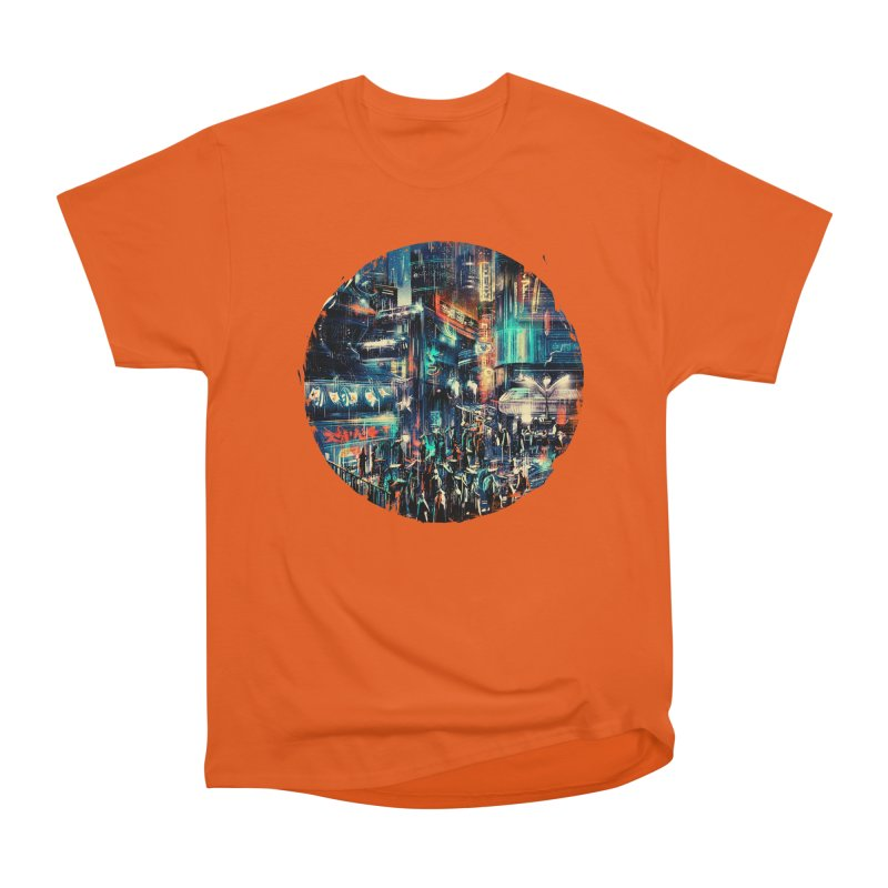 Chinatown Men's Heavyweight T-Shirt by MB's Tees