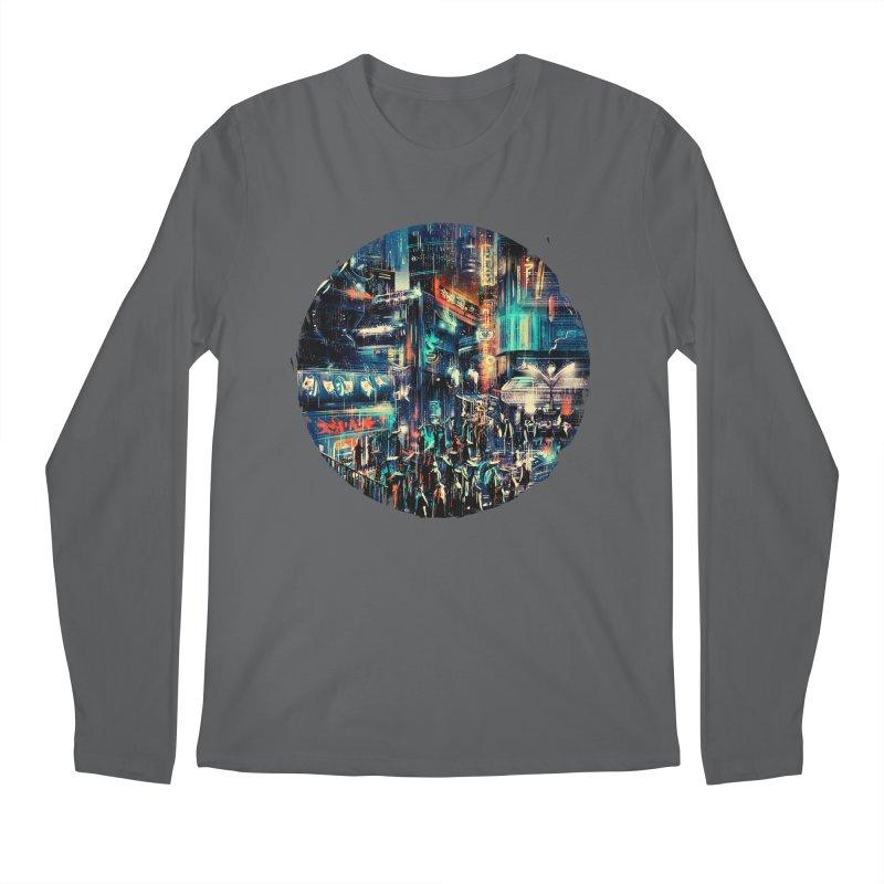 Chinatown Men's Regular Longsleeve T-Shirt by MB's Tees