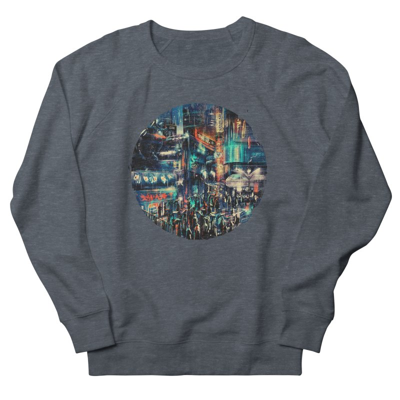 Chinatown Women's French Terry Sweatshirt by MB's Tees