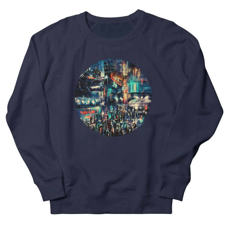 Chinatown Men's French Terry Sweatshirt by MB's Tees