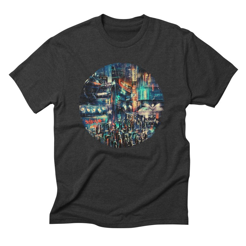 Chinatown Men's Triblend T-Shirt by MB's Tees