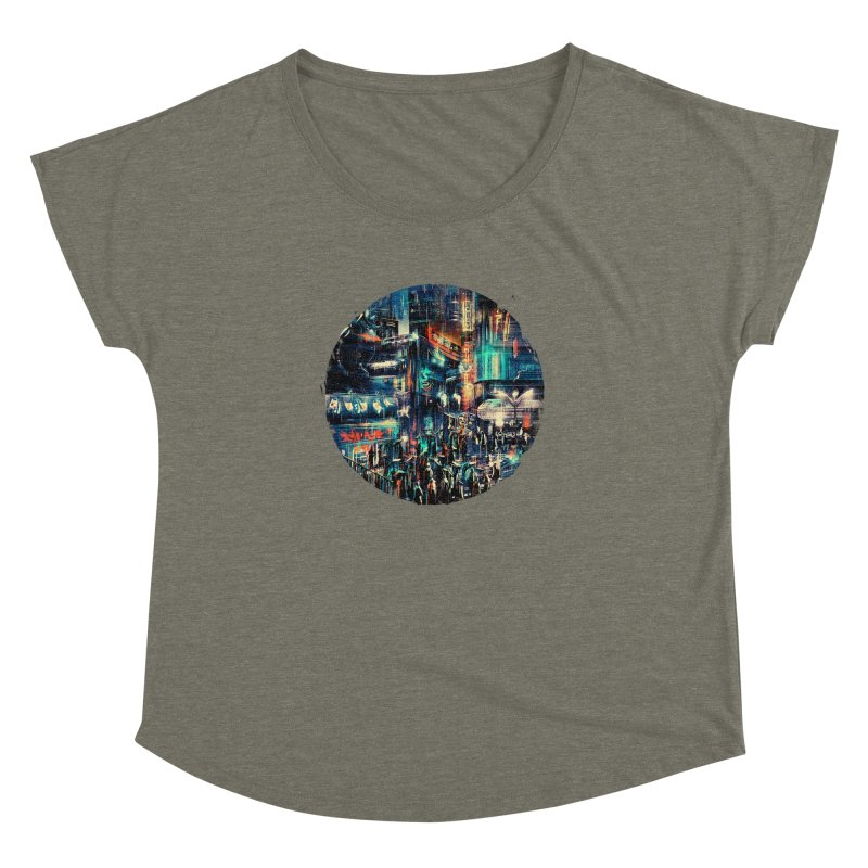 Chinatown Women's Dolman by MB's Tees