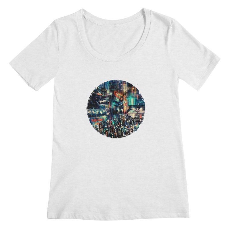 Chinatown Women's Scoop Neck by MB's Collection