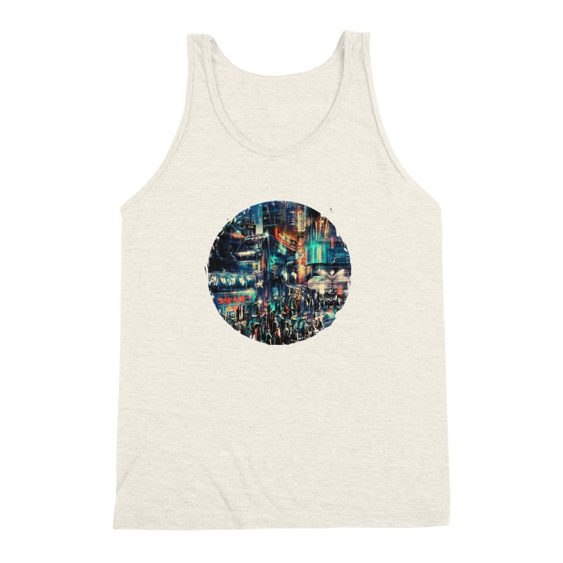 Chinatown Men's Triblend Tank by MB's Tees