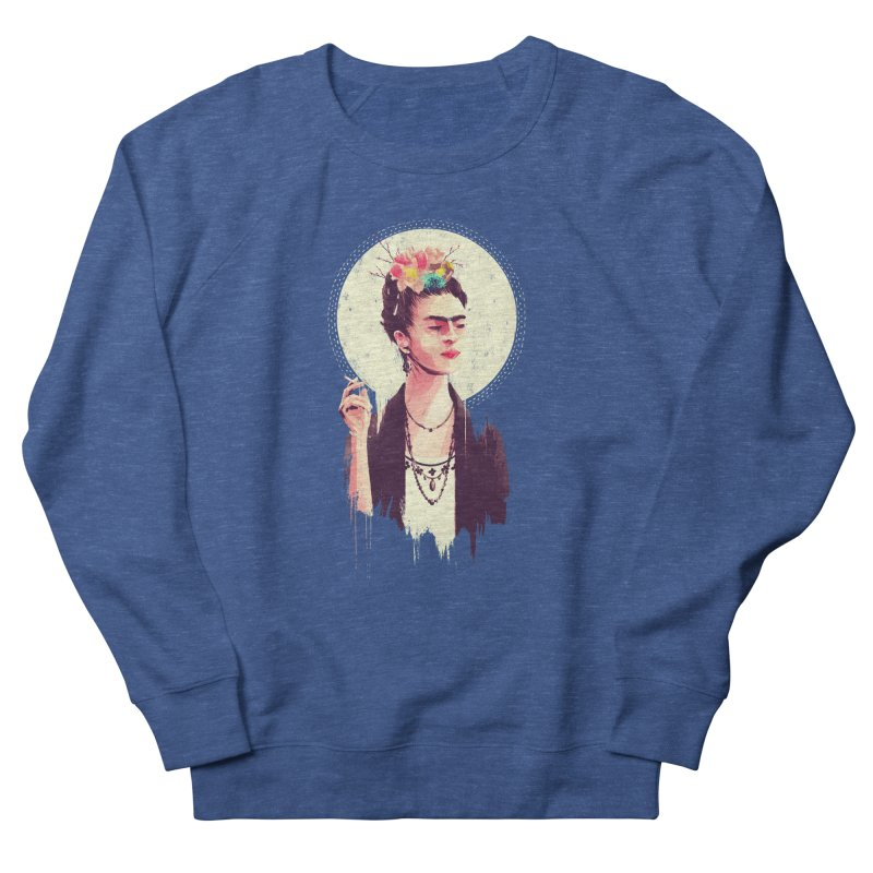 Thank god it's Frida Women's French Terry Sweatshirt by MB's Tees