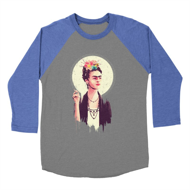 Thank god it's Frida Women's Baseball Triblend Longsleeve T-Shirt by MB's Tees