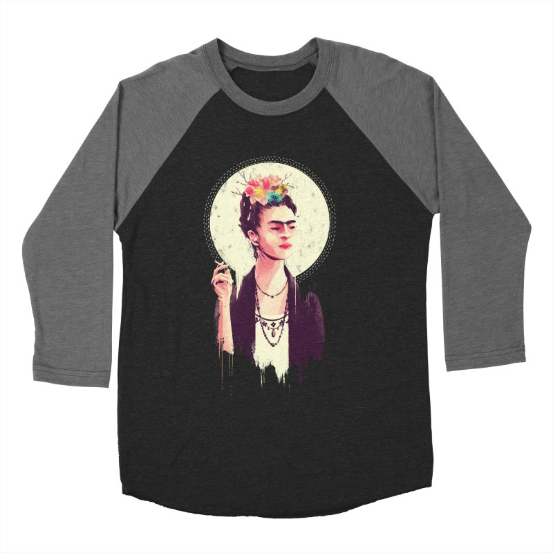 Thank god it's Frida Women's Baseball Triblend Longsleeve T-Shirt by MB's Tees