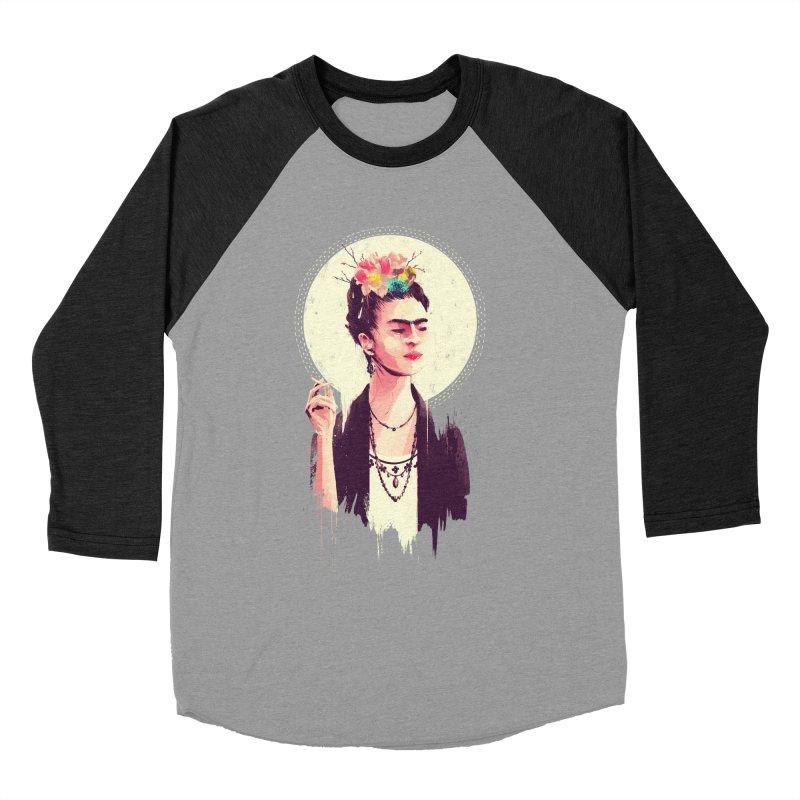 Thank god it's Frida Men's Baseball Triblend Longsleeve T-Shirt by MB's Tees