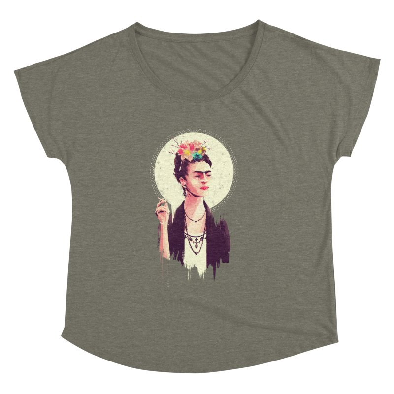 Thank god it's Frida Women's Dolman Scoop Neck by MB's Tees