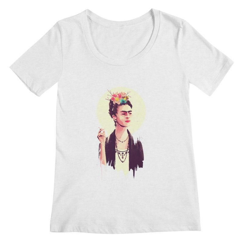 Thank god it's Frida Women's Regular Scoop Neck by MB's Tees