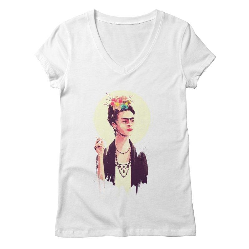 Thank god it's Frida Women's Regular V-Neck by MB's Tees