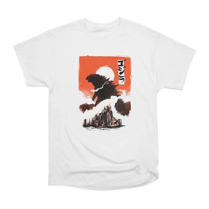 Godzilla Women's T-Shirt by MB's Tees